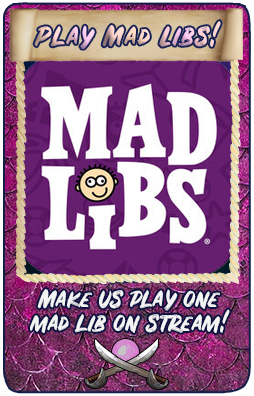 Mad Libs Story Time